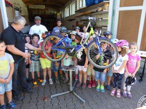 Fahrrad-Reparaturtag 2016