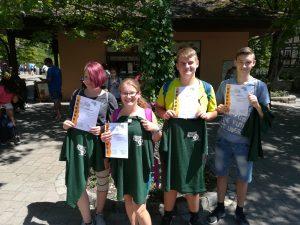 Schülerlotsenwettbewerb der Landesverkehrswacht BW 2018