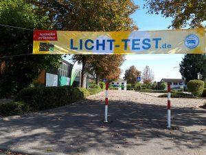 Licht-Test 2019 mit Rahmenprogramm