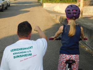 Radfahrtraining für Viertklässler der Grundschulen bzw. Fünft-/Sechstklässler der SBBZ
